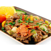 Beef fillet with vegetables in Chinese Master sauce with anise and ginger