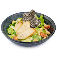 Caesar salad with chicken fillet