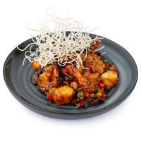 Scallops with tiger prawns in Hoisin sauce